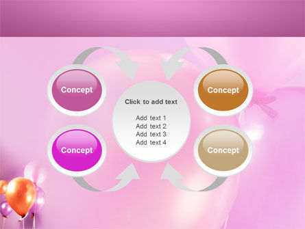 Balloons PowerPoint Template Slide 6