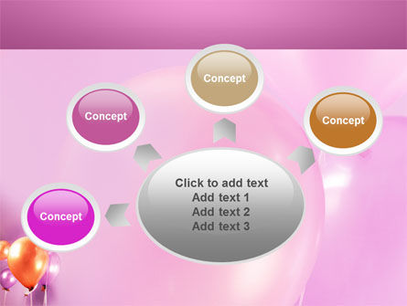 Balloons PowerPoint Template Slide 7