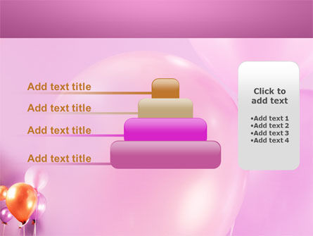 Balloons PowerPoint Template Slide 8