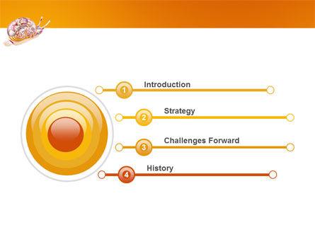 Snail PowerPoint Template, Slide 3, 03251, Nature & Environment — PoweredTemplate.com