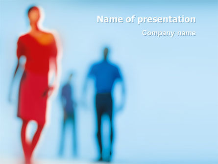 People: Modello PowerPoint - Trio #03252