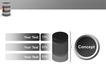Paper Case Shelf PowerPoint Template Slide 11