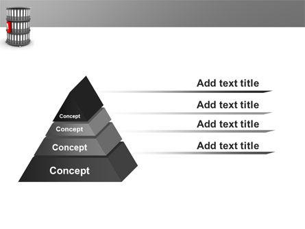 Paper Case Shelf PowerPoint Template Slide 12