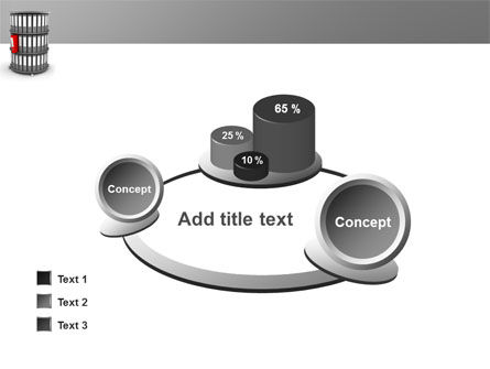 Paper Case Shelf PowerPoint Template Slide 16