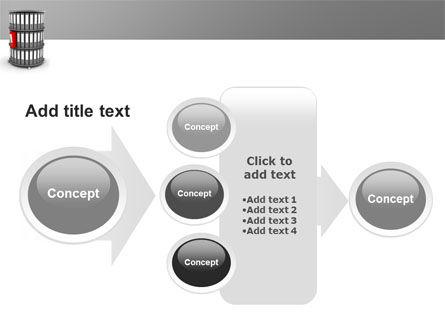Paper Case Shelf PowerPoint Template Slide 17