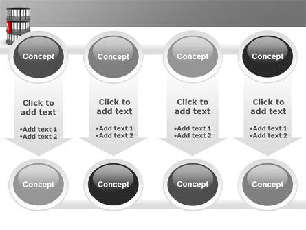 Paper Case Shelf PowerPoint Template Slide 18