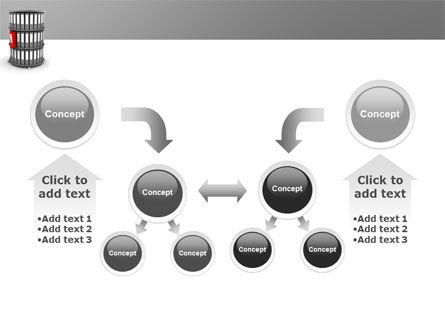 Paper Case Shelf PowerPoint Template Slide 19