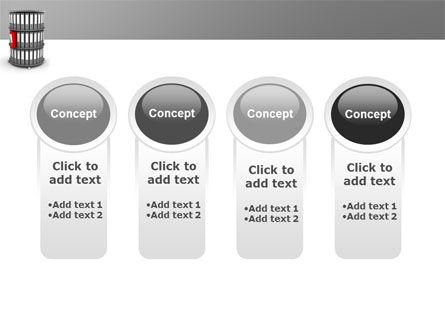 Paper Case Shelf PowerPoint Template Slide 5