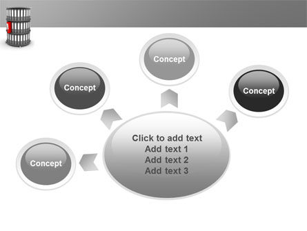 Paper Case Shelf PowerPoint Template Slide 7
