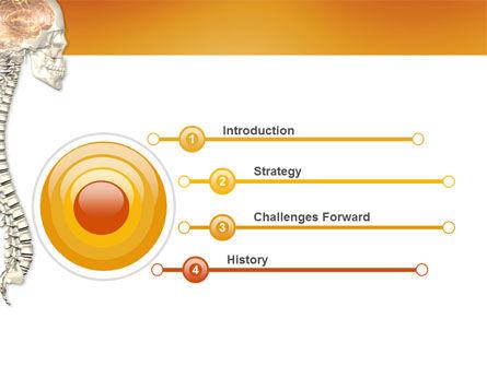 Spinal Cord PowerPoint Template, Slide 3, 03254, Medical — PoweredTemplate.com