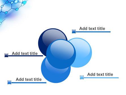 Molecular Bonds PowerPoint Template Slide 10