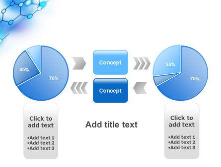 Molecular Bonds PowerPoint Template Slide 11