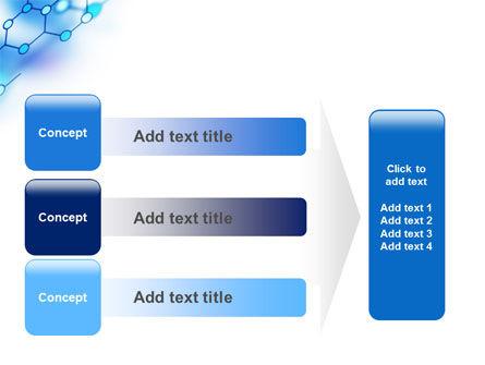 Molecular Bonds PowerPoint Template Slide 12