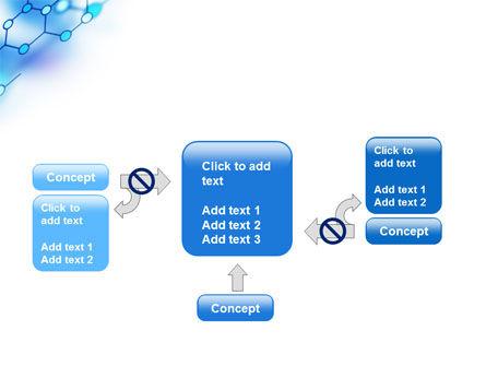 Molecular Bonds PowerPoint Template Slide 13