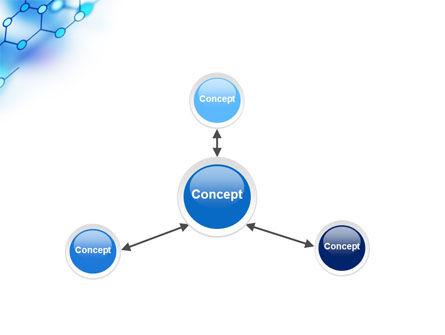 Molecular Bonds PowerPoint Template Slide 14