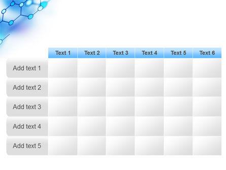 Molecular Bonds PowerPoint Template Slide 15