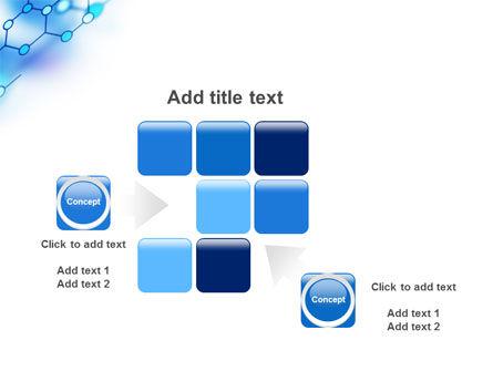 Molecular Bonds PowerPoint Template Slide 16