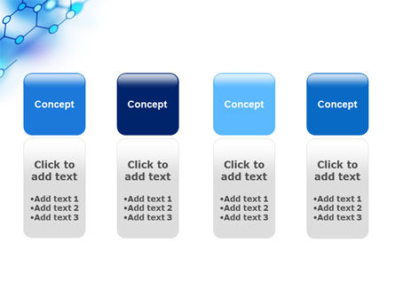 Molecular Bonds PowerPoint Template Slide 5