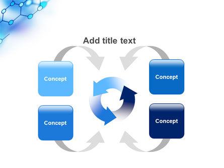 Molecular Bonds PowerPoint Template Slide 6