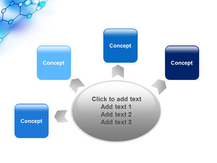 Molecular Bonds PowerPoint Template Slide 7