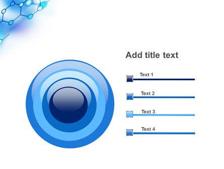 Molecular Bonds PowerPoint Template Slide 9