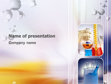 Chemical Laboratory PowerPoint Template, 03259, Technology and Science — PoweredTemplate.com