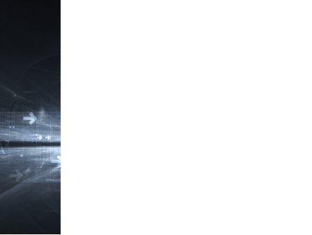 Cyberspace PowerPoint Template, Slide 3, 03260, Abstract/Textures — PoweredTemplate.com