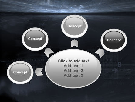Cyberspace PowerPoint Template Slide 7