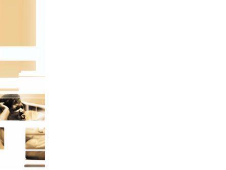 Working Hard PowerPoint Template, Slide 3, 03261, Sports — PoweredTemplate.com