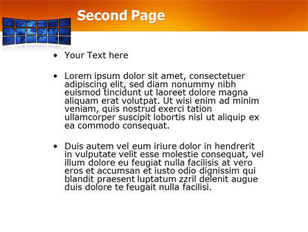 World News PowerPoint Template Slide 2