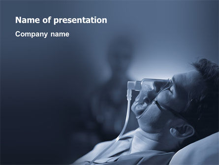 Coma PowerPoint Template, 03264, Medical — PoweredTemplate.com