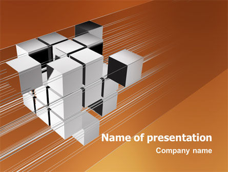 3D: Unification PowerPoint Template #03266
