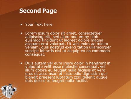 Unification PowerPoint Template, Slide 2, 03266, 3D — PoweredTemplate.com