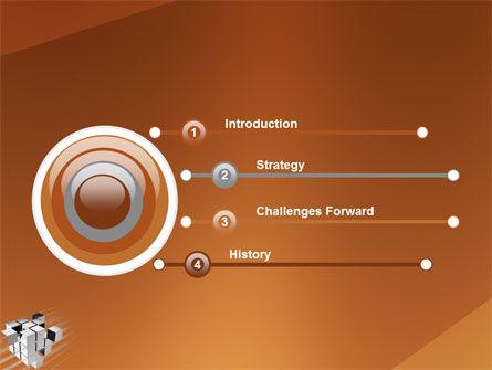 Unification PowerPoint Template, Slide 3, 03266, 3D — PoweredTemplate.com