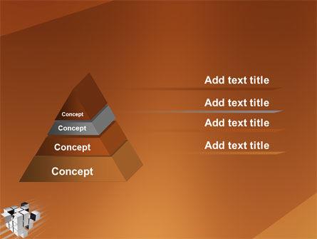 Unification PowerPoint Template, Slide 4, 03266, 3D — PoweredTemplate.com