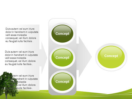World Tree PowerPoint Template Slide 11