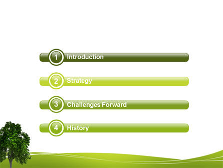 World Tree PowerPoint Template, Slide 3, 03271, Nature & Environment — PoweredTemplate.com