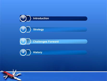 Pocket Knife PowerPoint Template, Slide 3, 03272, Utilities/Industrial — PoweredTemplate.com