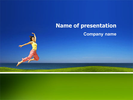 Consulting: Happiness PowerPoint Template #03273