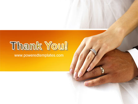 Hand In Hand In Wedding Rings PowerPoint Template Slide 20