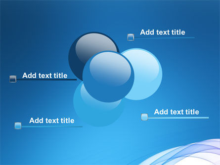 Blue Veil PowerPoint Template Slide 10