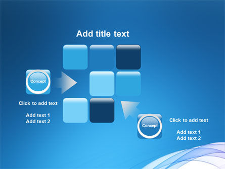Blue Veil PowerPoint Template Slide 16