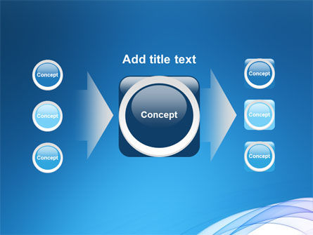 Blue Veil PowerPoint Template Slide 17