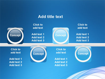 Blue Veil PowerPoint Template Slide 19