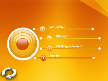 Refresh PowerPoint Template, Slide 3, 03278, 3D — PoweredTemplate.com