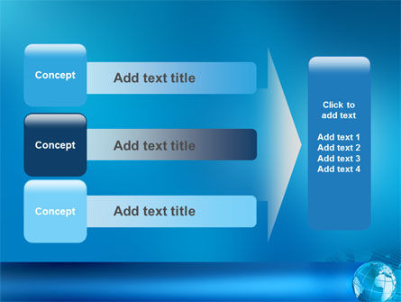Worldwide PowerPoint Template Slide 12