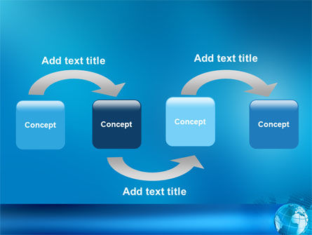 Worldwide PowerPoint Template Slide 4
