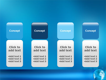 Worldwide PowerPoint Template Slide 5