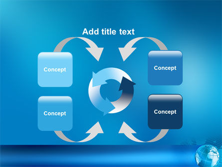 Worldwide PowerPoint Template Slide 6
