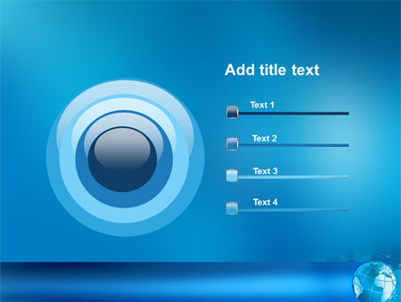 Worldwide PowerPoint Template Slide 9